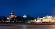 Фотосъемка подсветки города