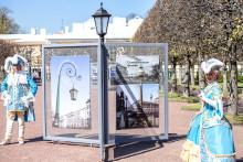 Выставка в Петергофе